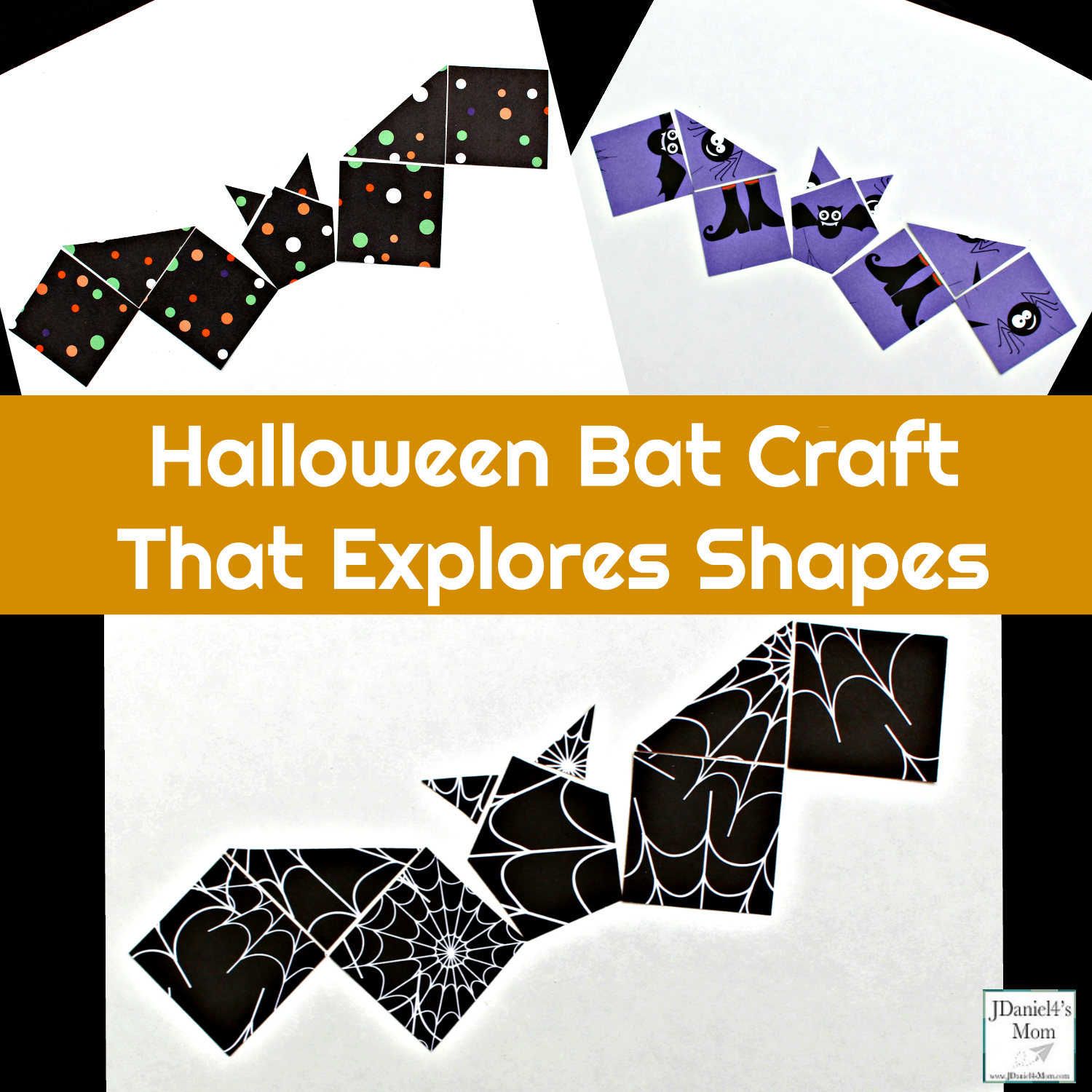Halloween Bat Craft - Your children at home or students at school will have enjoy putting together this Stellaluna themed craft.
