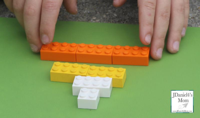 Halloween LEGO- Candy Corn Challenge