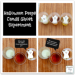 Halloween Peeps Candy Ghost Experiment