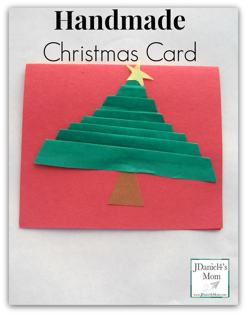 Handmade Christmas Cards- Folded Trees - JDaniel4s Mom