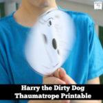 Harry the Dirty Dog Thaumatrope Printable