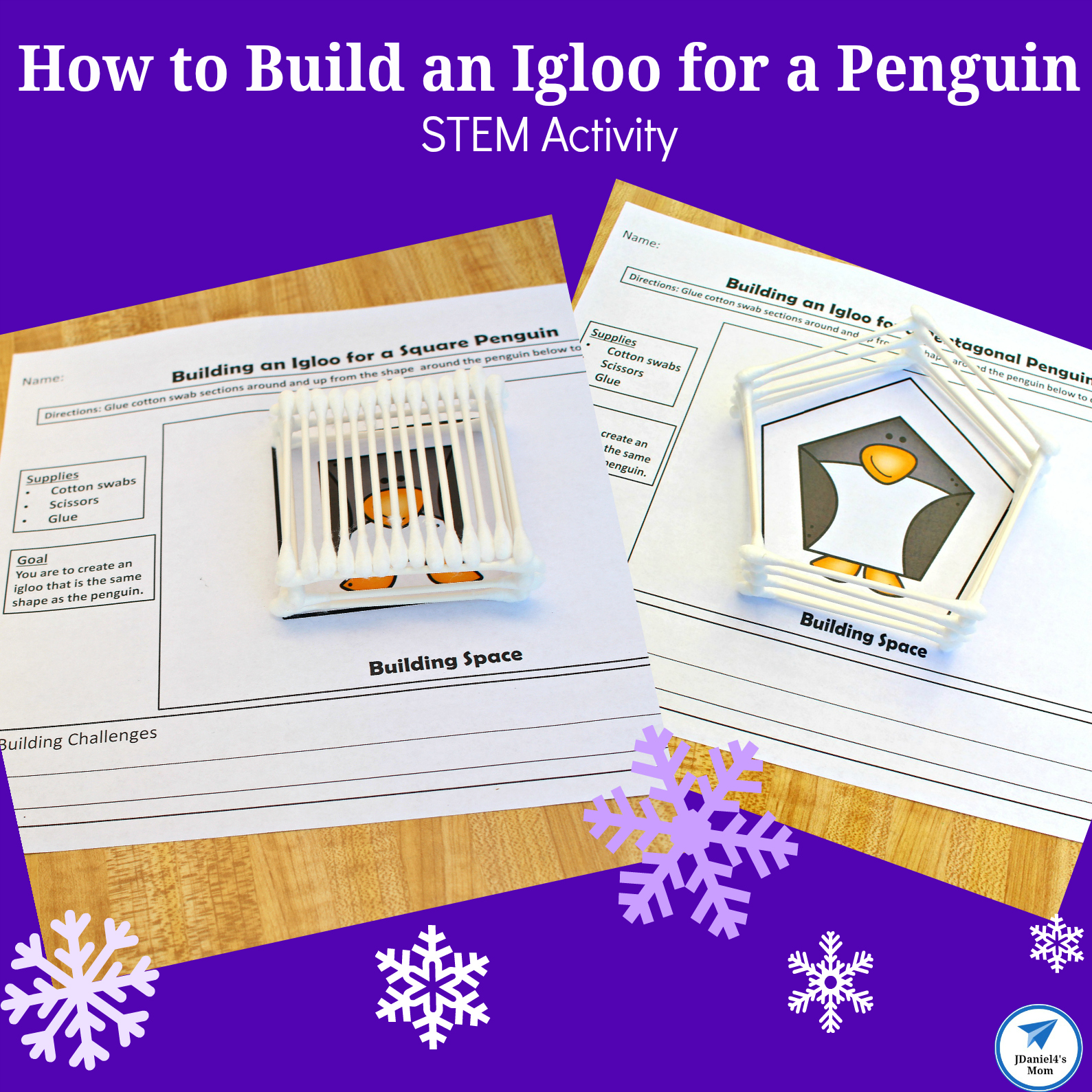 How To Build An Igloo For A Penguin Stem Activity Jdaniel4s Mom