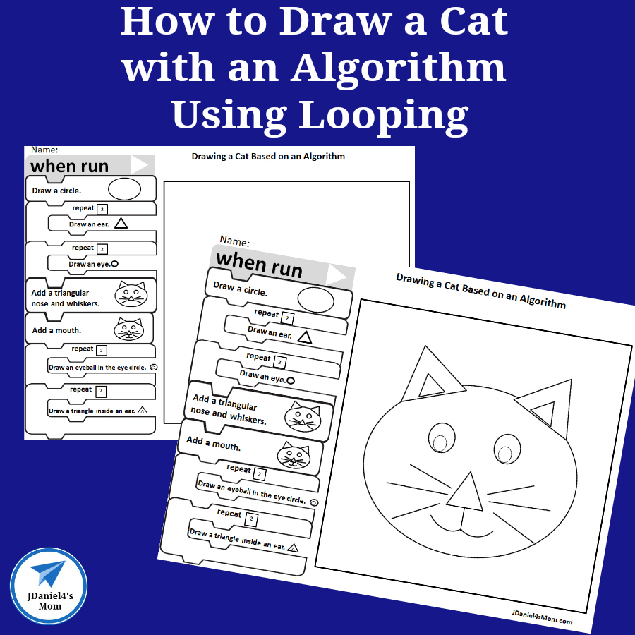 How to Draw a Cat with an Algorithm Using Looping