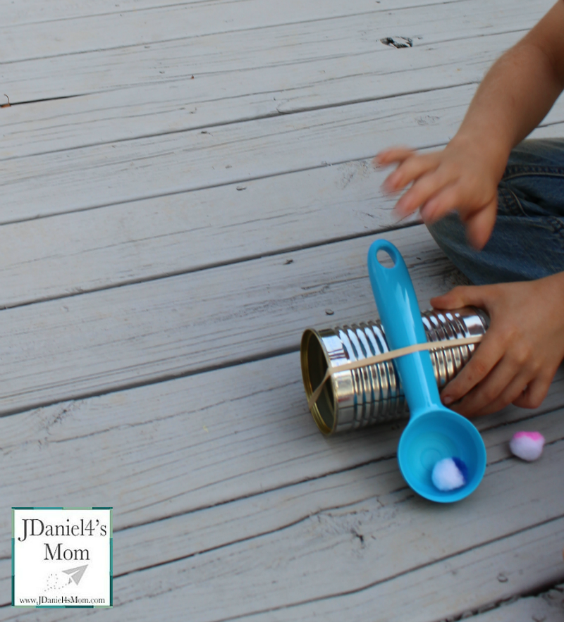 How to Make a Catapult for Kids- This is activity would be great to do after reading the book Should I Share My Ice Cream?