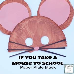 If You Take A Mouse To School Puppet Craft