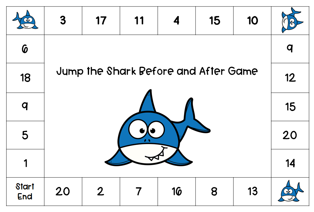 Jump the Shark Before and After Game