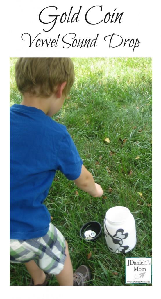 Kids Activities-Gold Coin Vowel Sound  Drop