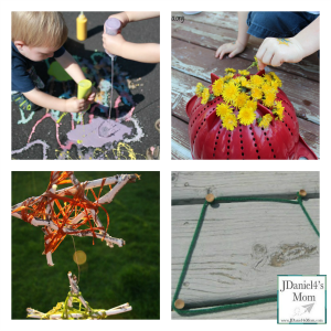 Kids Outdoor Fine Motor Fun_three