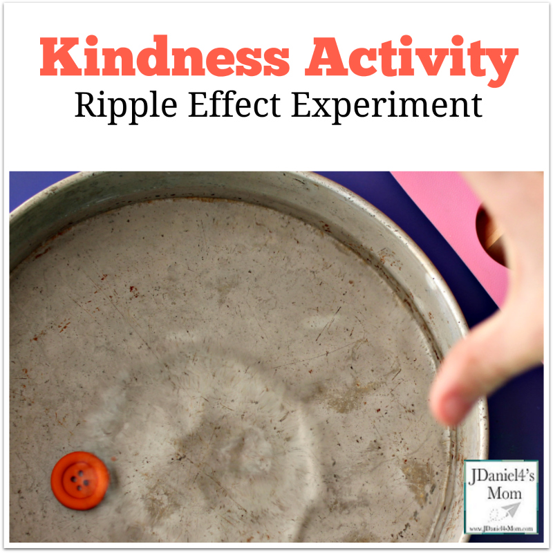 Kindness Activity Ripple Effect Experiment