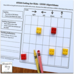 -LEGO Algorithm STEM Activity Coding for Beginners - This is a great way to introduce your kids to coding!