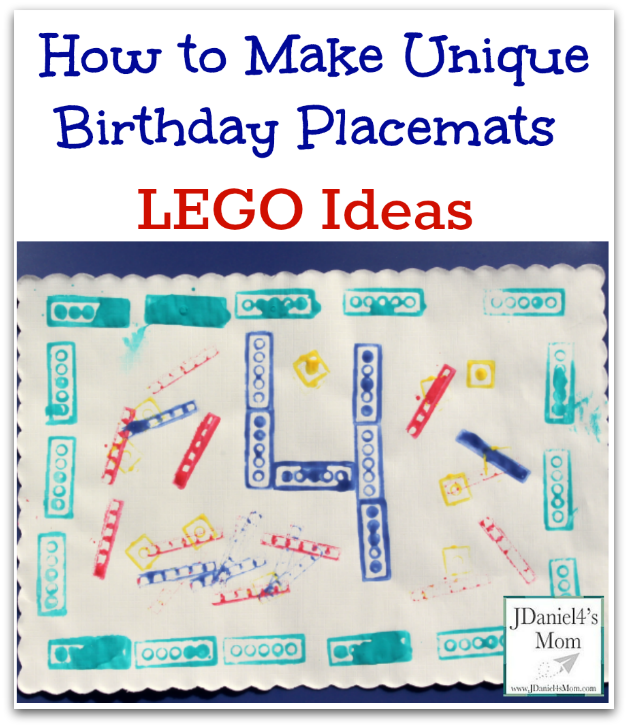 LEGO Ideas- How to Make Unique Birthday Placemats