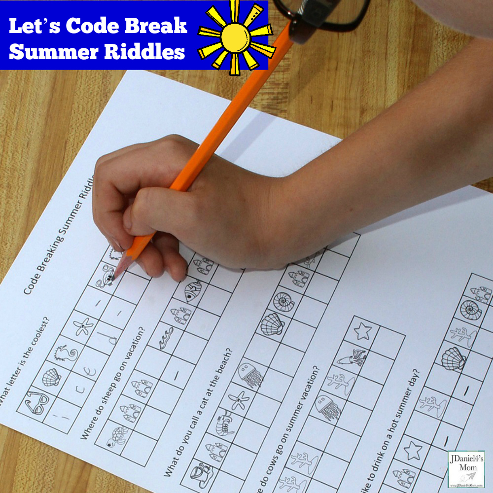 Let S Code Break Summer Riddles Facebook on 2nd prehension