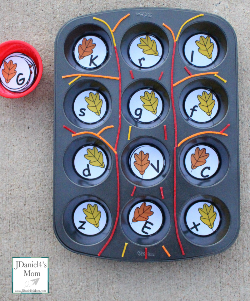 image about Letter Recognition Games Printable named Letter Reputation Activity with Absolutely free Leaf Printable