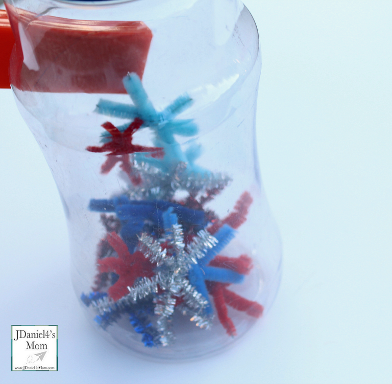 Magnetic Games for Kids - Fireworks in a Jar with Lots of Stars