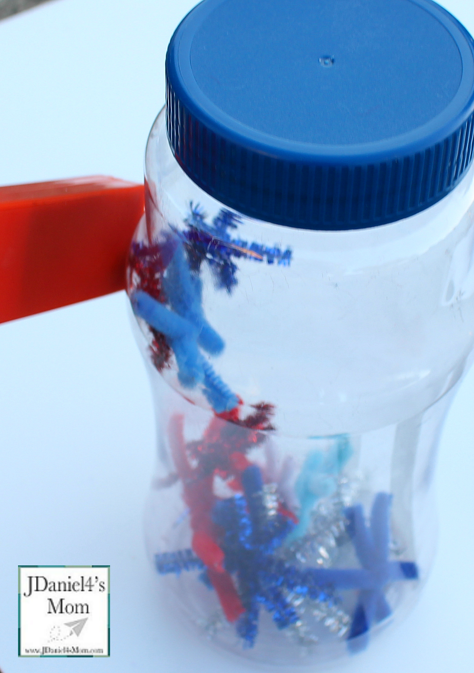 Magnetic Games for Kids - Fireworks in a Jar with Lots of Stars Lifting Off the Bottom