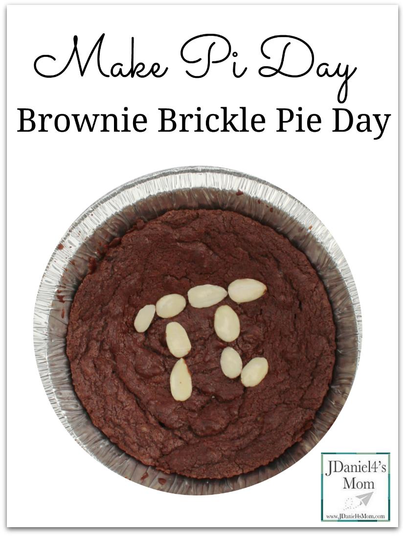 Make Pi Day Brownie Brickle Pie Day