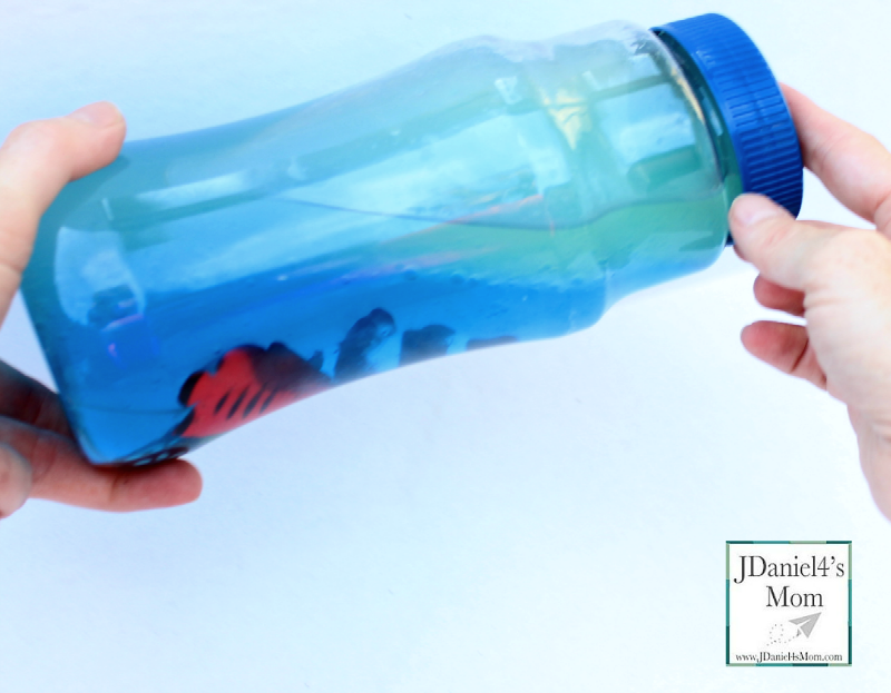 STEM Experiment- Making Waves in a Plastic Water Bottle