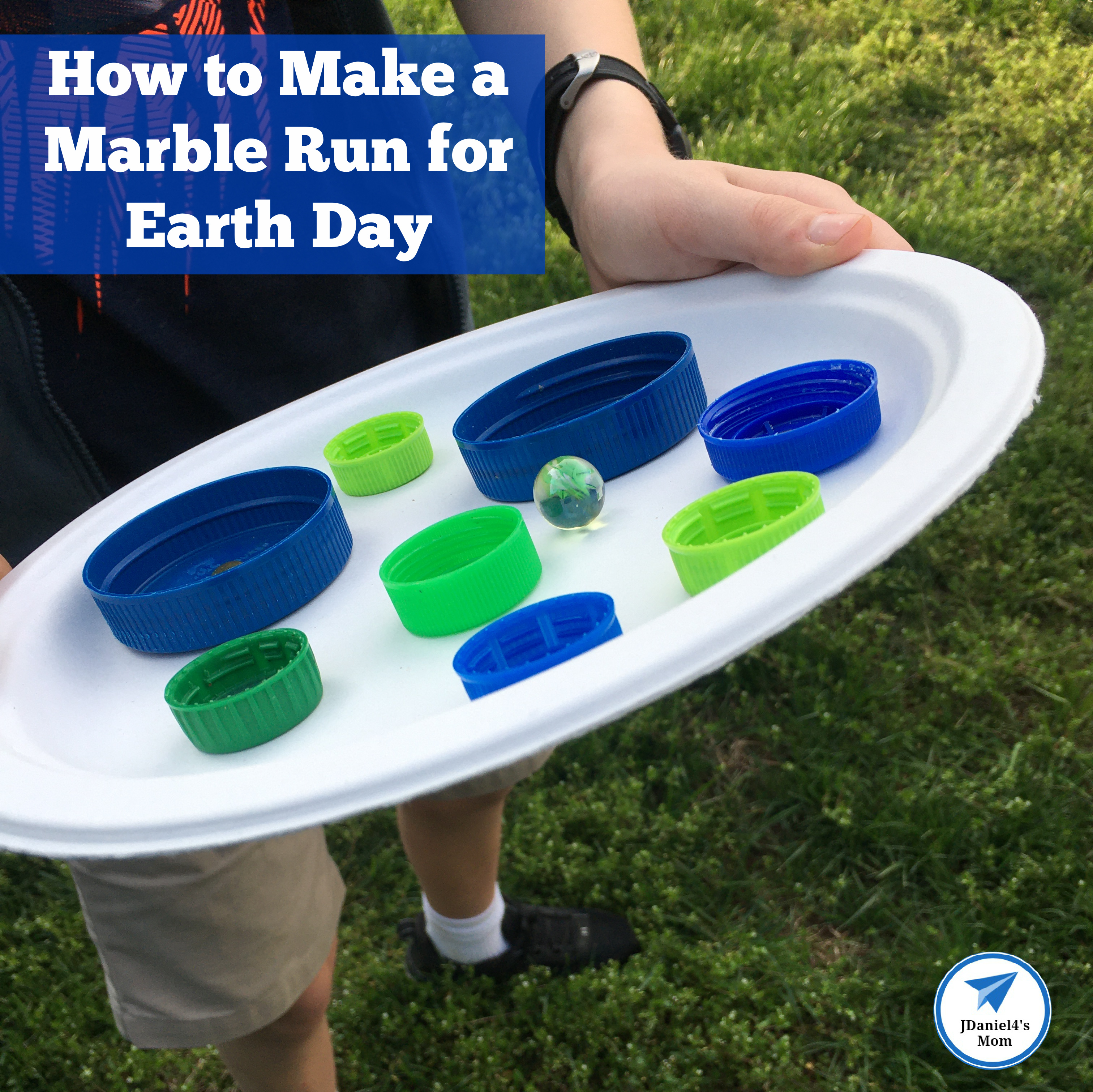 How to Make a Marble Run for Earth Day