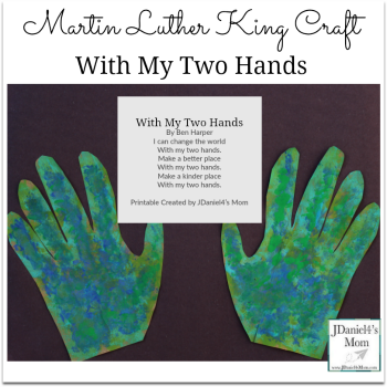 Martin Luther King Craft- With My Two Hands
