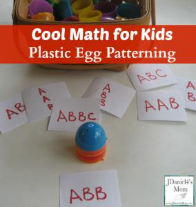 Cool Math for Kids Plastic Egg Patterning