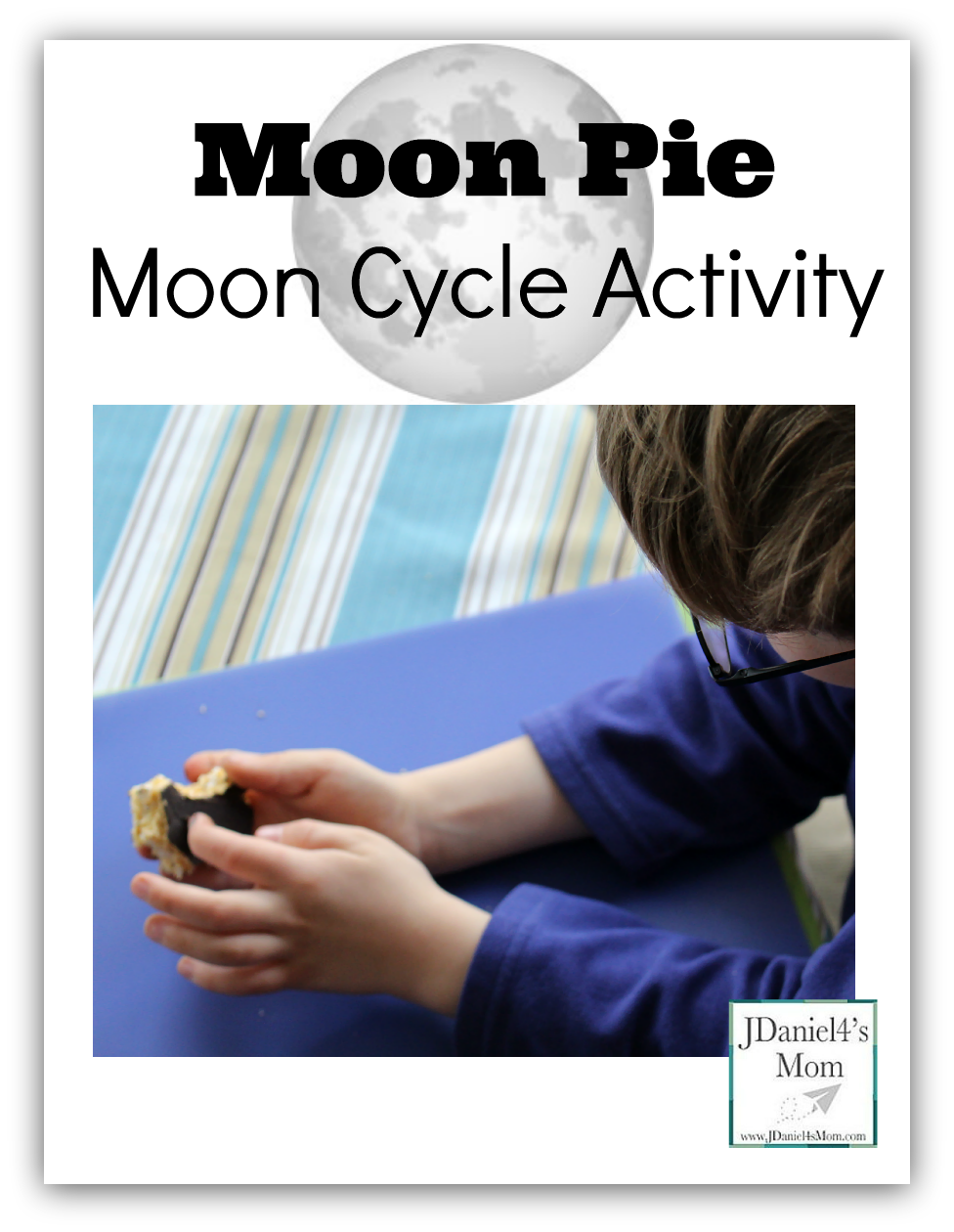 Moon Pie Moon Cycle Activity