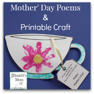 image about Printable Mothers Day Poems known as Moms Working day Poems and Printable Craft