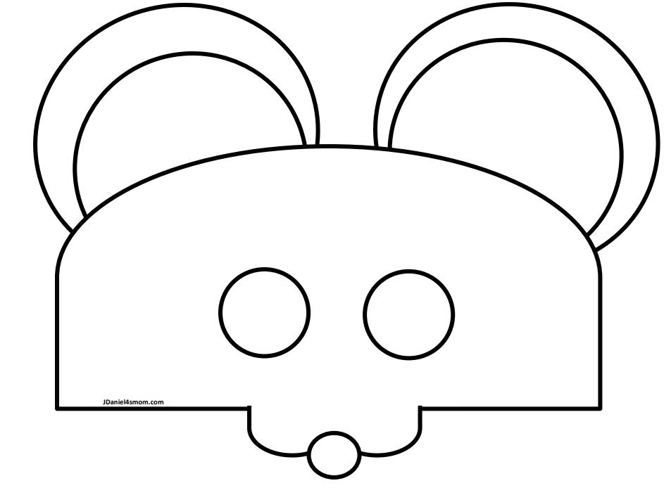 Free Printable Mouse Mask