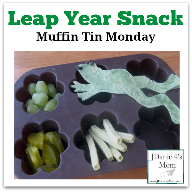 Muffin Tin Monday Leap Year Snack