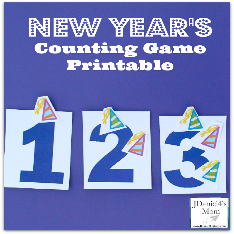 4 Years And Counting Quotes: New Year's Counting Game Printable