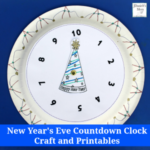 This countdown clock is a fun way to work on numbers and celebrate the beginning of a new year!