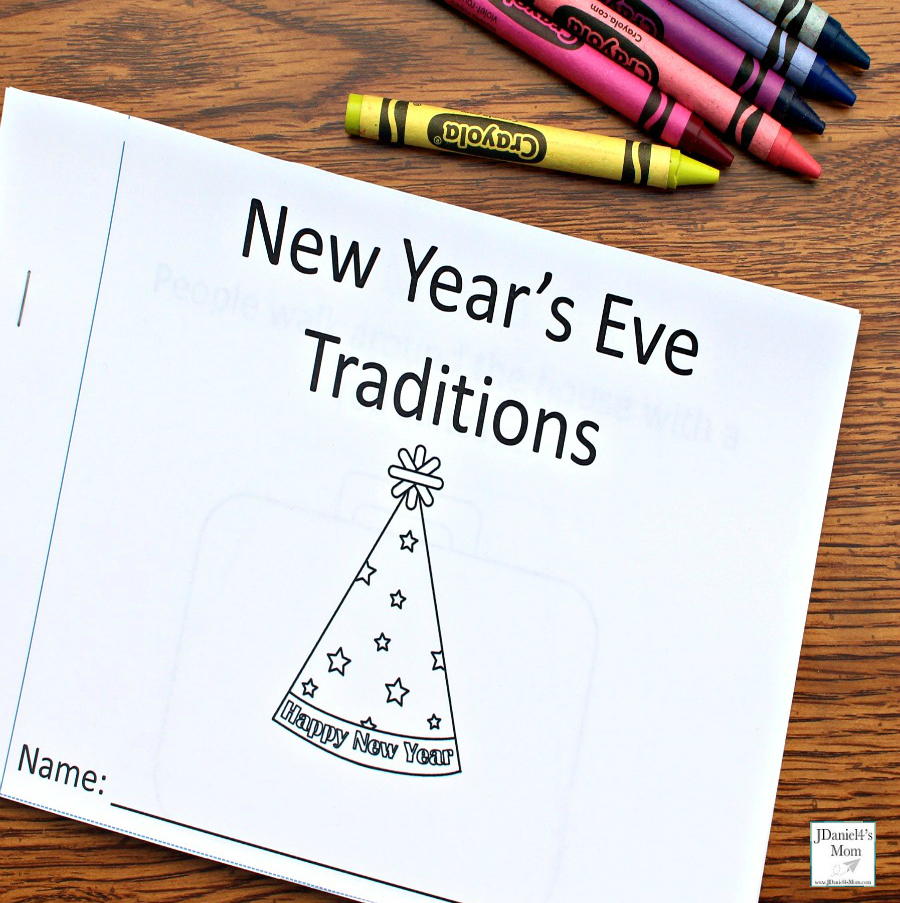 new years eve traditions around the world printable book