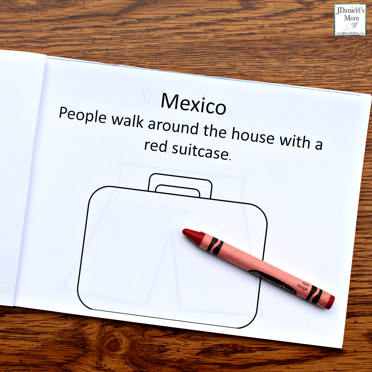 New Year's Traditions from Around the World Printable Book - Mexico