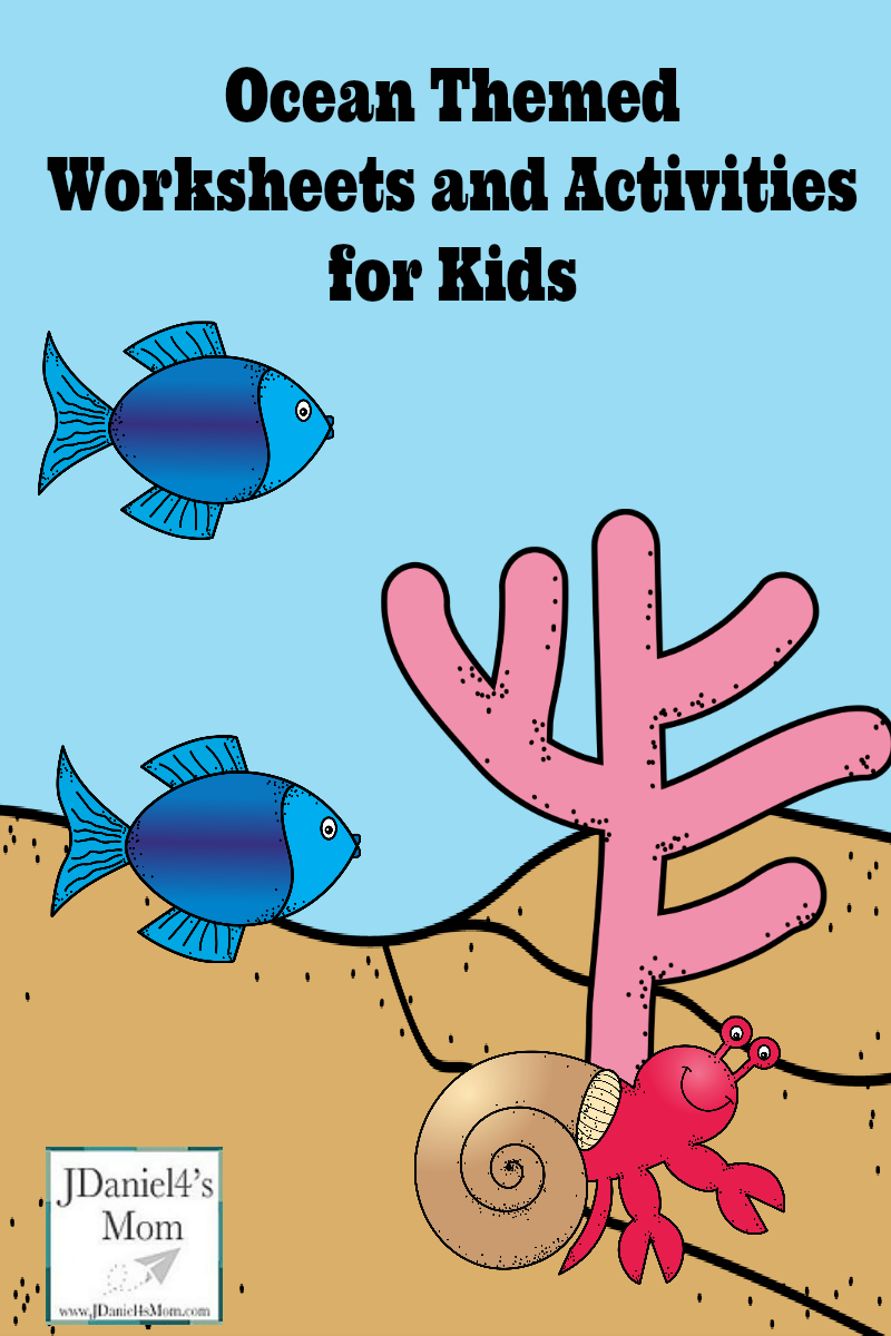 Ocean Themed Printables for Kids
