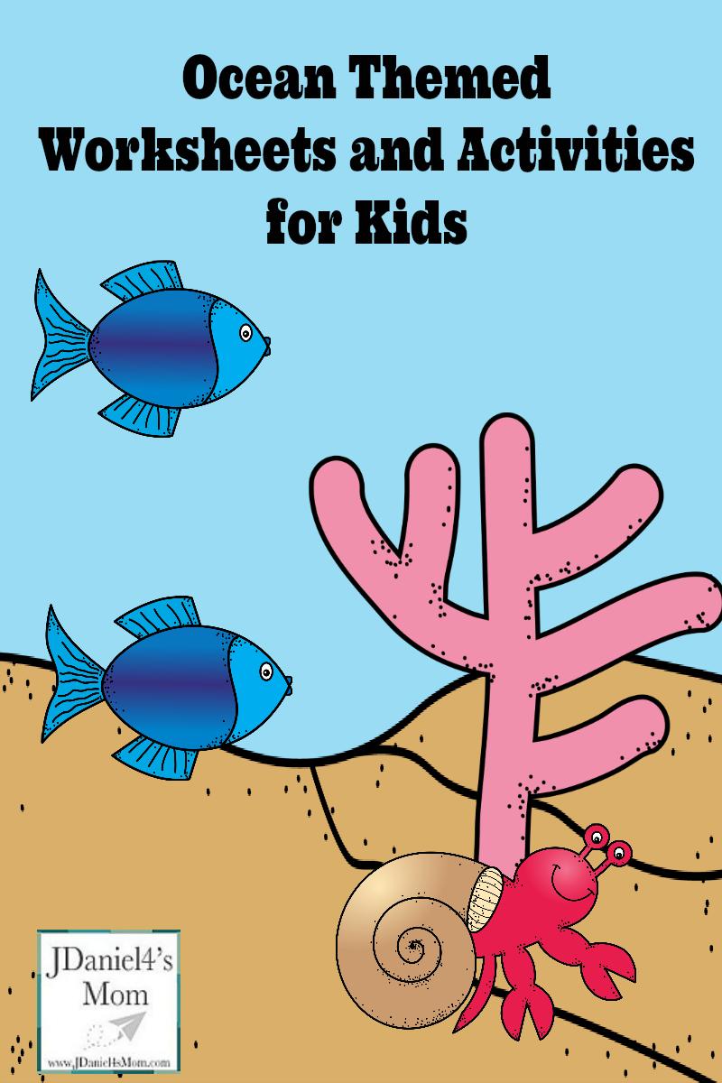 Ocean Themed Printables for Kids