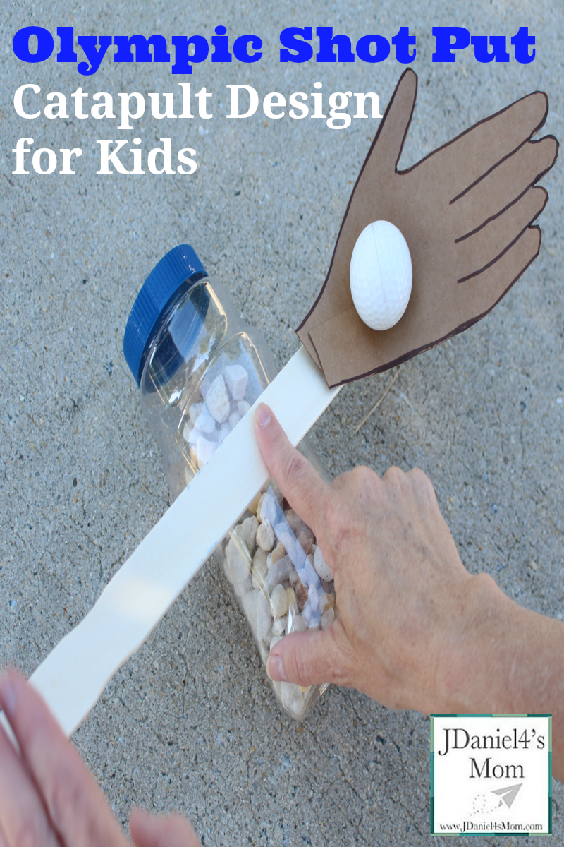 Olympic Shot Put Catapult Design for Kids