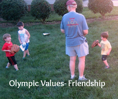 Olympic Values- Friendship