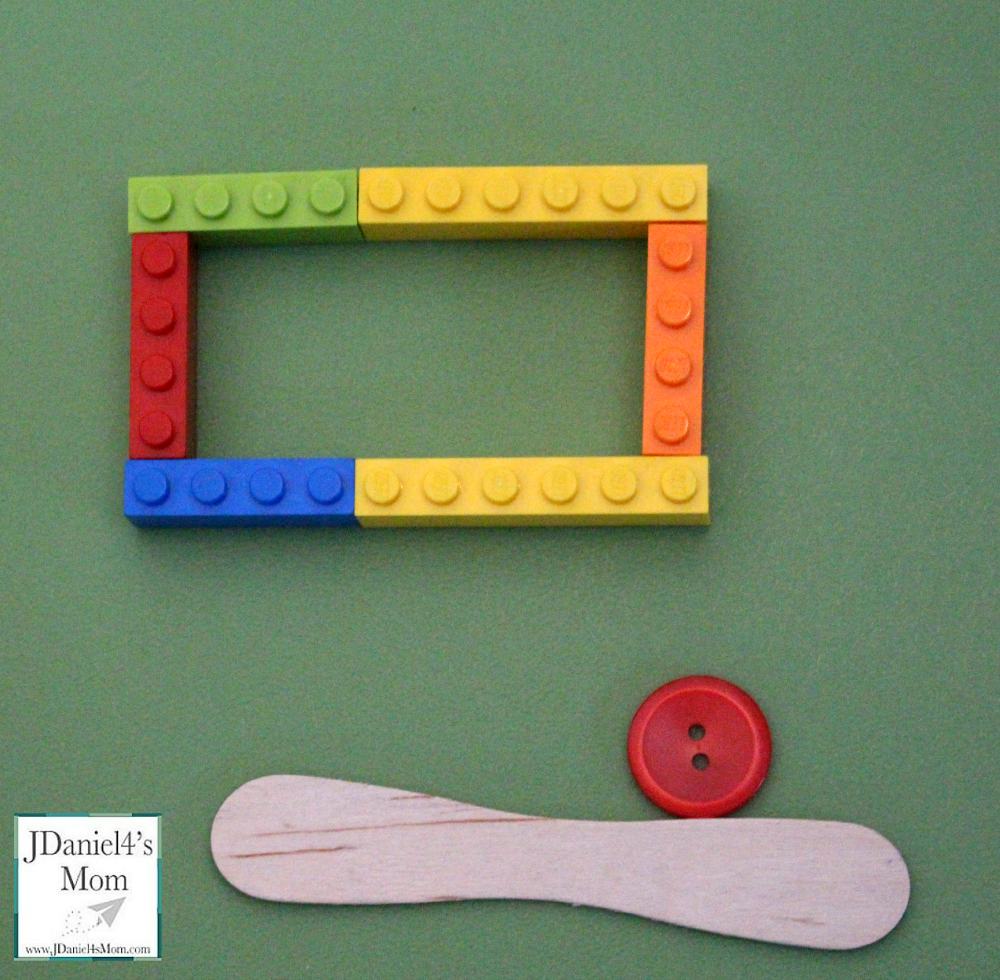Open and Closed LEGO Polygon Shapes