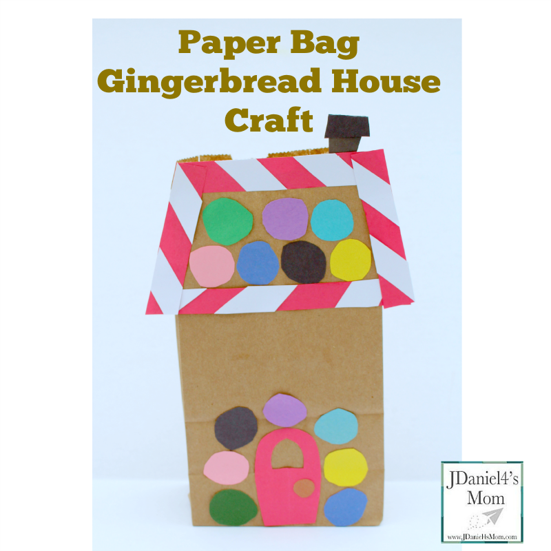 Paper Bag Gingerbread House Facebook