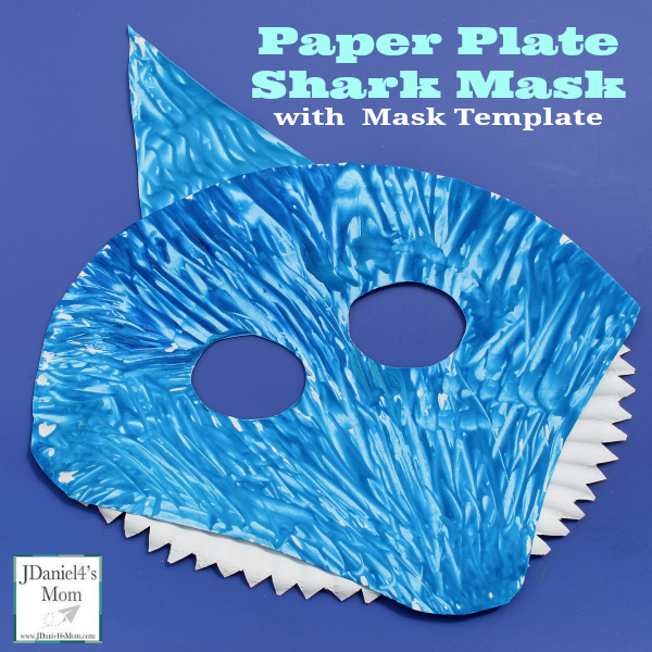 Here are some more paper plate ocean themed crafts and another fun shark craft  sc 1 st  JDaniel4s Mom & Paper-Plate-Shark-Mask-with-Mask-Template-Facebook.png