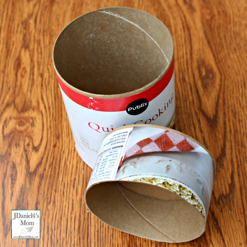 Pinhole Camera - How to Make One from an Oatmeal Container -Two Sections