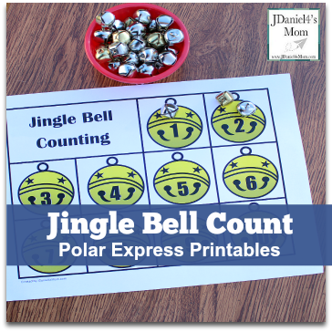 Polar Express Printables- Jingle Bell Count