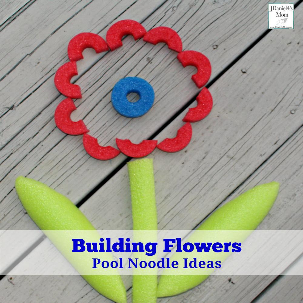 Pool Noodle Ideas - Building Flowers