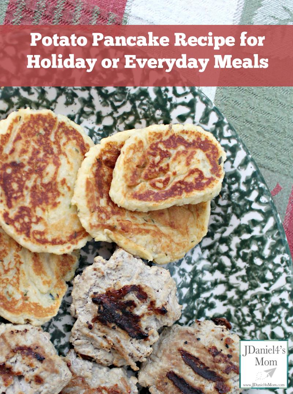 Potato Pancake Recipe with Instant Potatoes and Zucchini