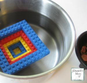 Preschool Science- How Long will a Lego Boat Float?