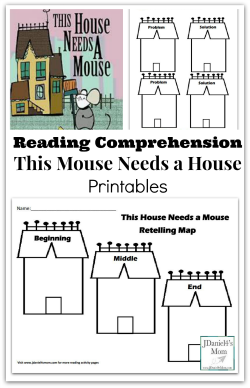 Reading Comprehension- This Mouse Needs a House