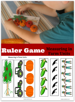 Ruler Game- Measuring in Farm Units