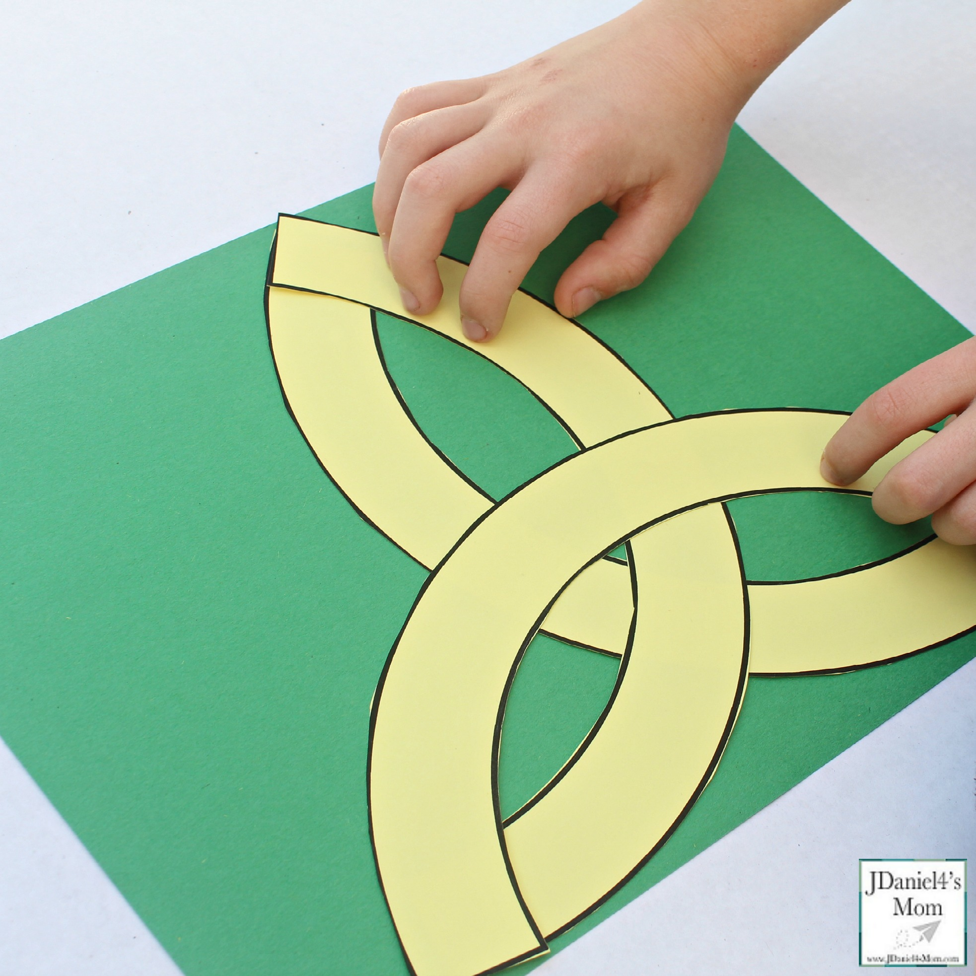 STEAM Activity Celtic Knot Design for St. Patrick's Day