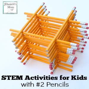 STEM Activities for Kids with #2 Pencils