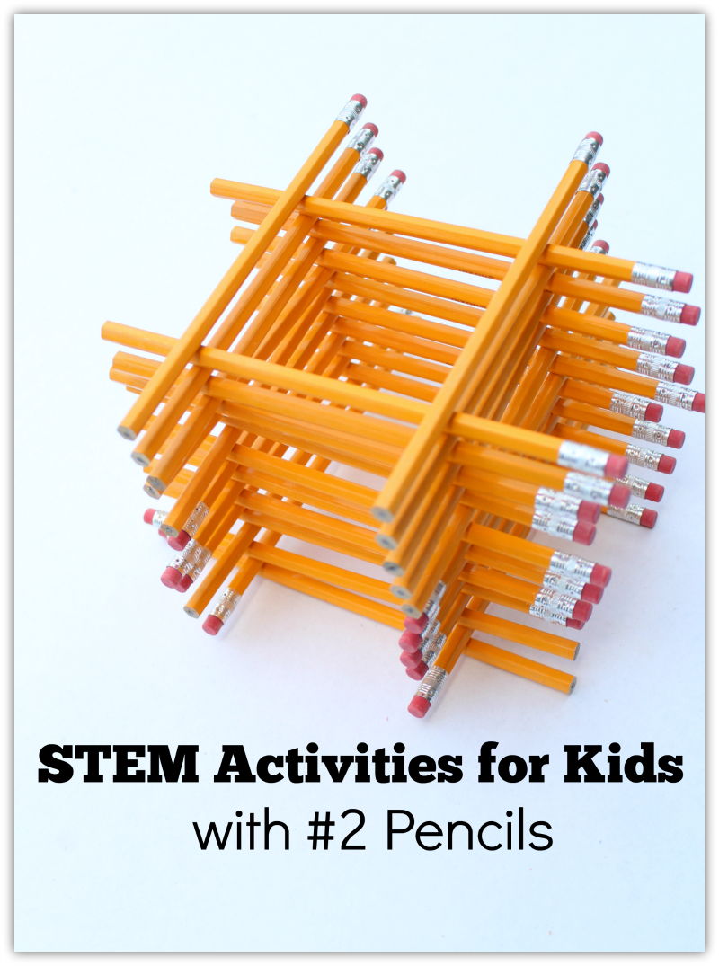 STEM Activities for Kids with #2 Pencils Pinterest
