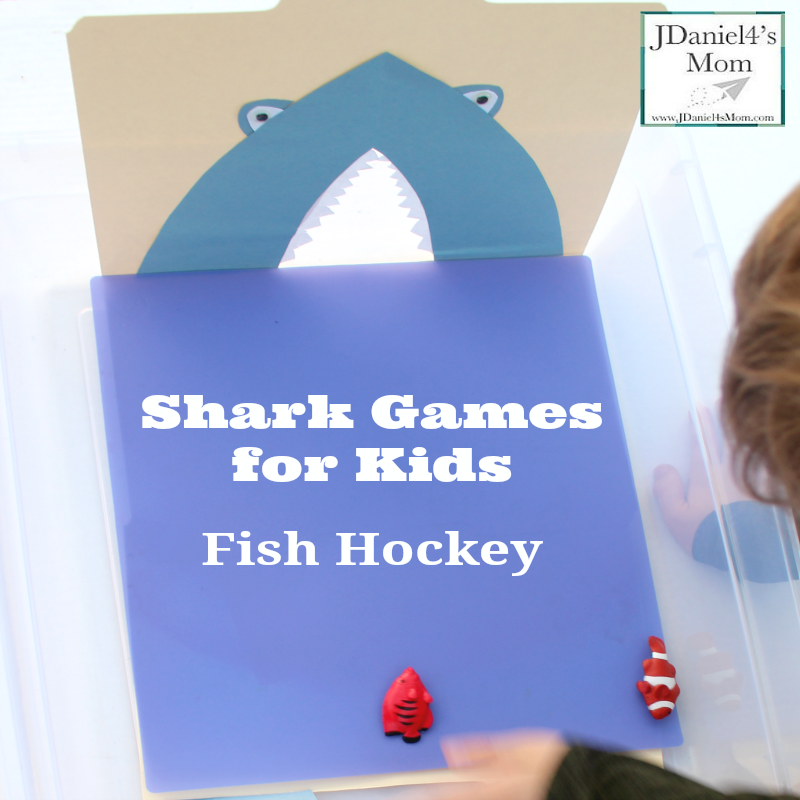 Shark Games for Kids- Fish Hockey- Great for Shark Week or a part of an ocean unit.
